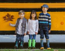 Bunt, bunter, am buntesten: Die neuen BOGS Regenstiefel für Kids