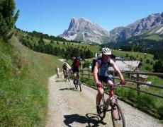 Mountainbiken mit Genuss im Eisacktal